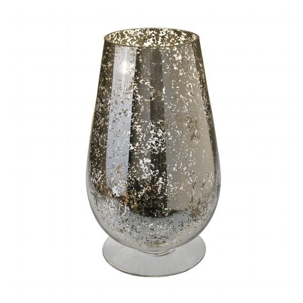 gold hurricane vase or candle holder