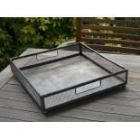 Medium mesh rustic tray