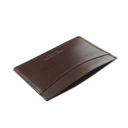 Chocolate brown evening out credit card/cash holder