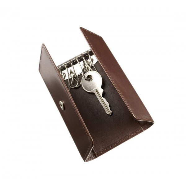 Brown Leather Key Case Styleabode