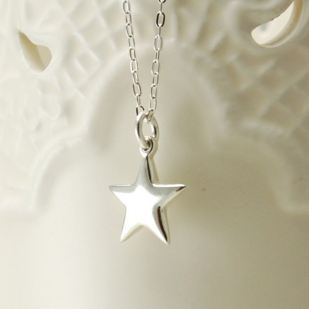 Sterling Silver Star and chain necklace