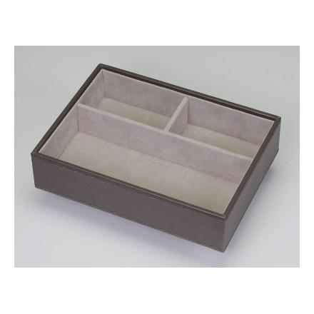 Mink three compartment tray